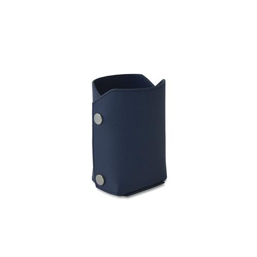 Aholic 皮革筆筒 (深藍)