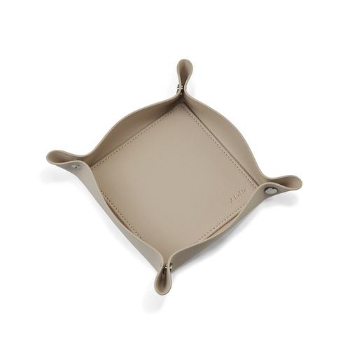 Aholic|皮革收納盤 (杏色)