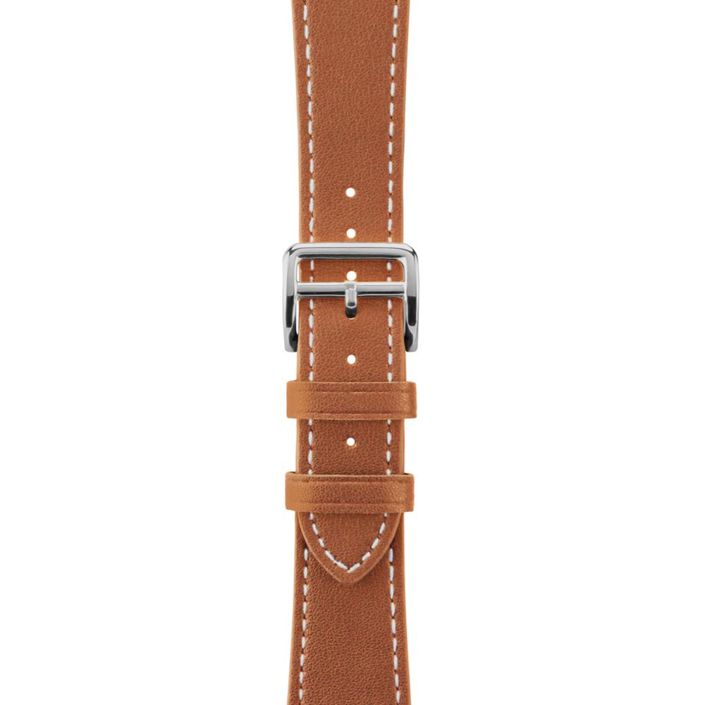 Aholic|Apple Watch 皮革錶帶 42/44mm - 棕色