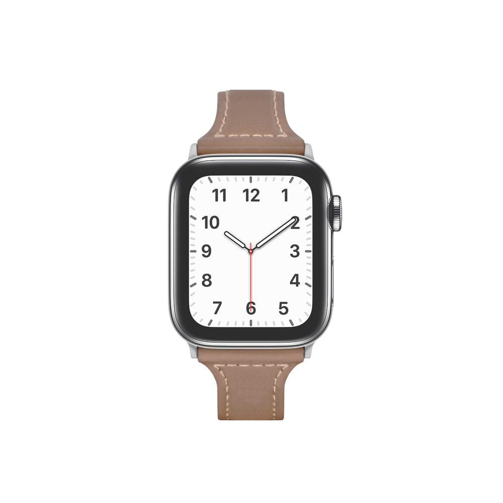 Aholic|Apple Watch 皮革錶帶 38/40mm - 可可