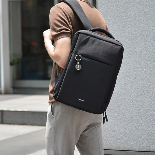 Aholic AirTag 矽膠保護套 - 黑色