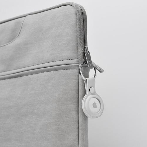Aholic|AirTag 矽膠保護套 - 白色