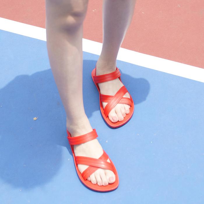 blackOut 訂製X系列涼鞋-素色款-紅底+紅鞋帶