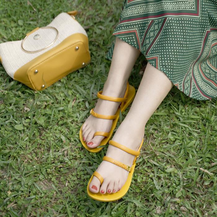 (複製)blackOut|訂製趾環涼鞋-限定彩色款-紅底+彩色鞋帶