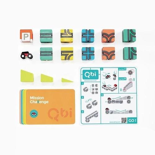 Qbi|益智磁吸軌道玩具-獨享組