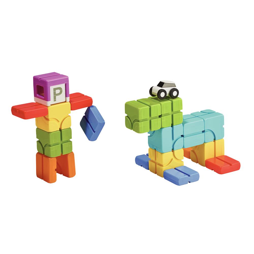 Qbi|益智磁吸軌道玩具-成長探索系列-兒童獨享組
