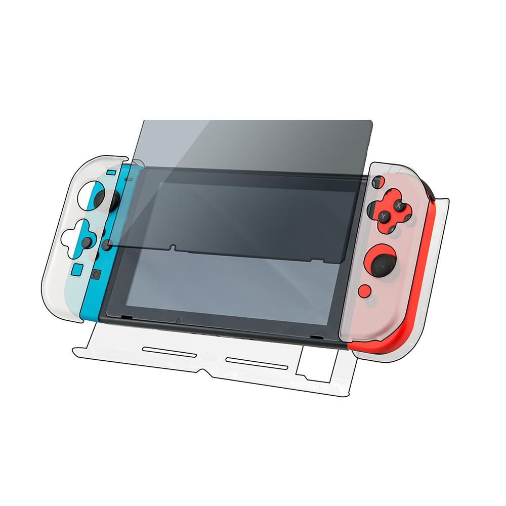 富雷迅FlashFire Switch水晶殼保護全套件(再贈9H保貼)