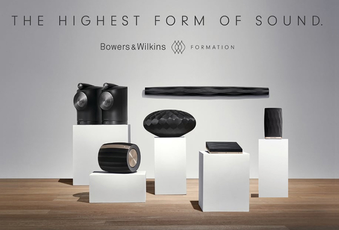Bowers & Wilkins|Formation Flex 精緻型無線喇叭