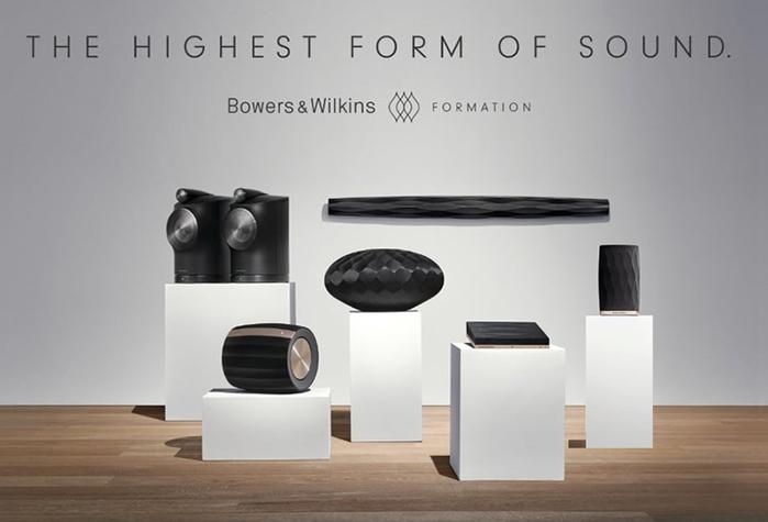 Bowers & Wilkins Formation Flex 精緻型無線喇叭