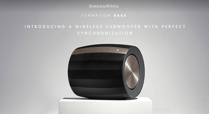 Bowers & Wilkins|Formation BASS 無線重低音喇叭