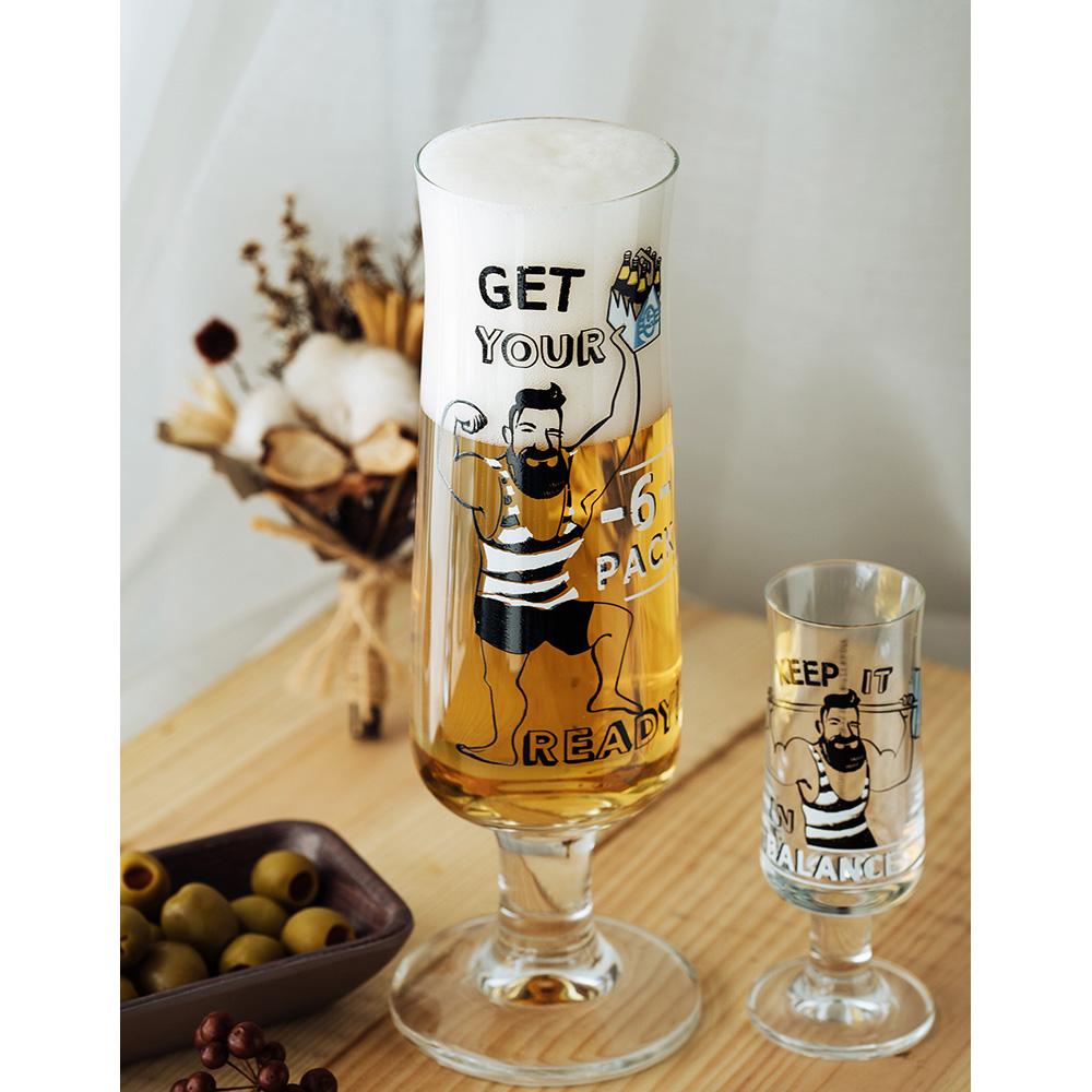 德國 RITZENHOFF 新式啤酒杯/ BEER  肌肉型男
