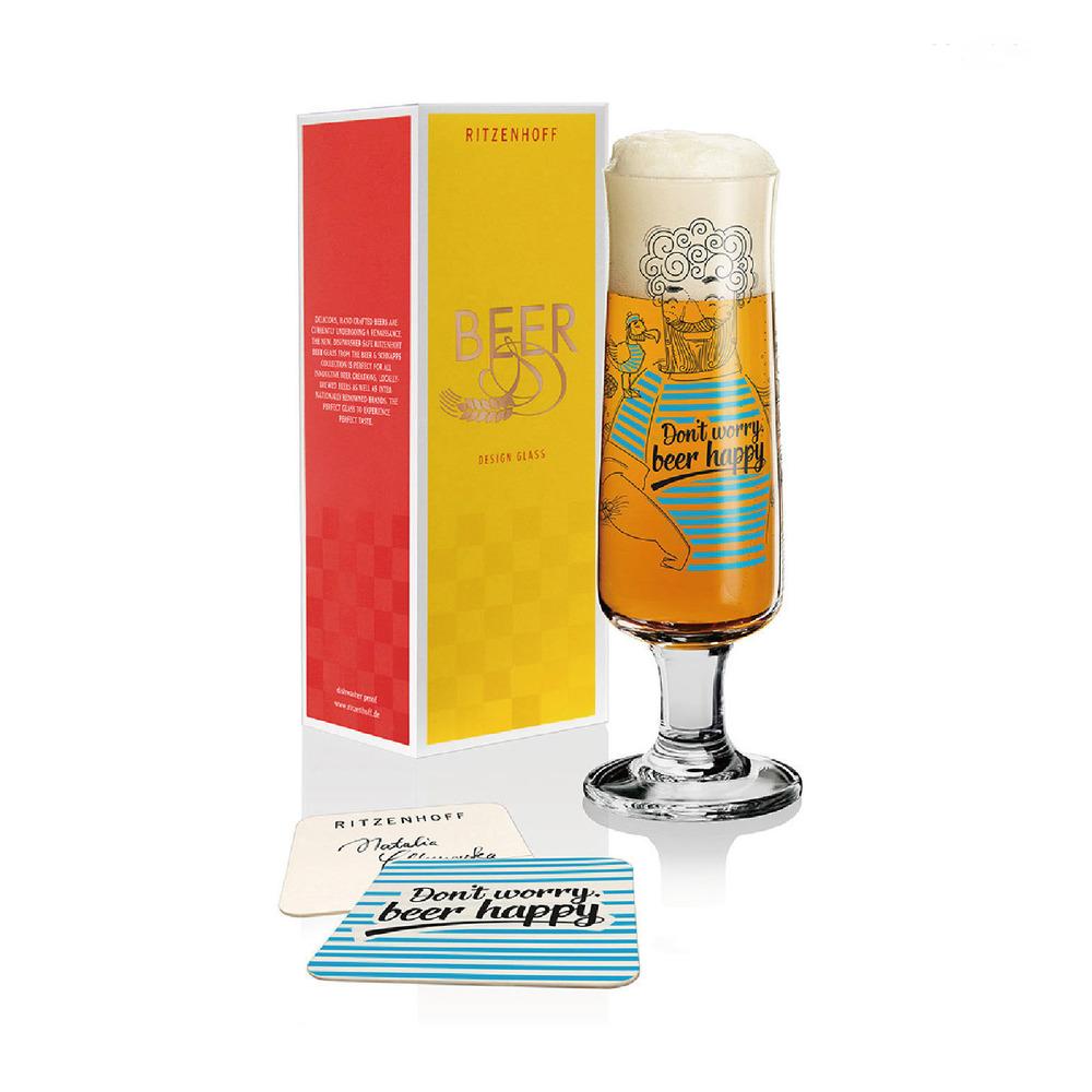 德國 RITZENHOFF 新式啤酒杯/ BEER  快樂啤酒