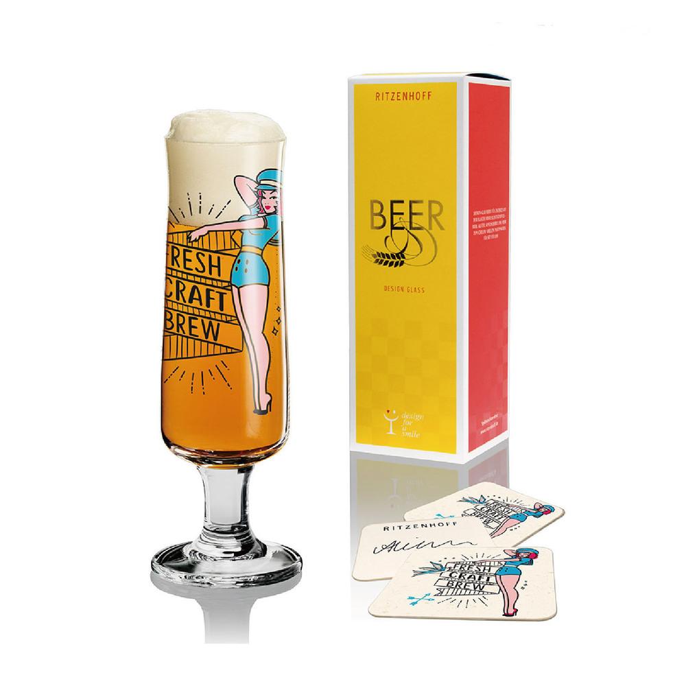 德國 RITZENHOFF|新式啤酒杯/ BEER 啤酒美眉