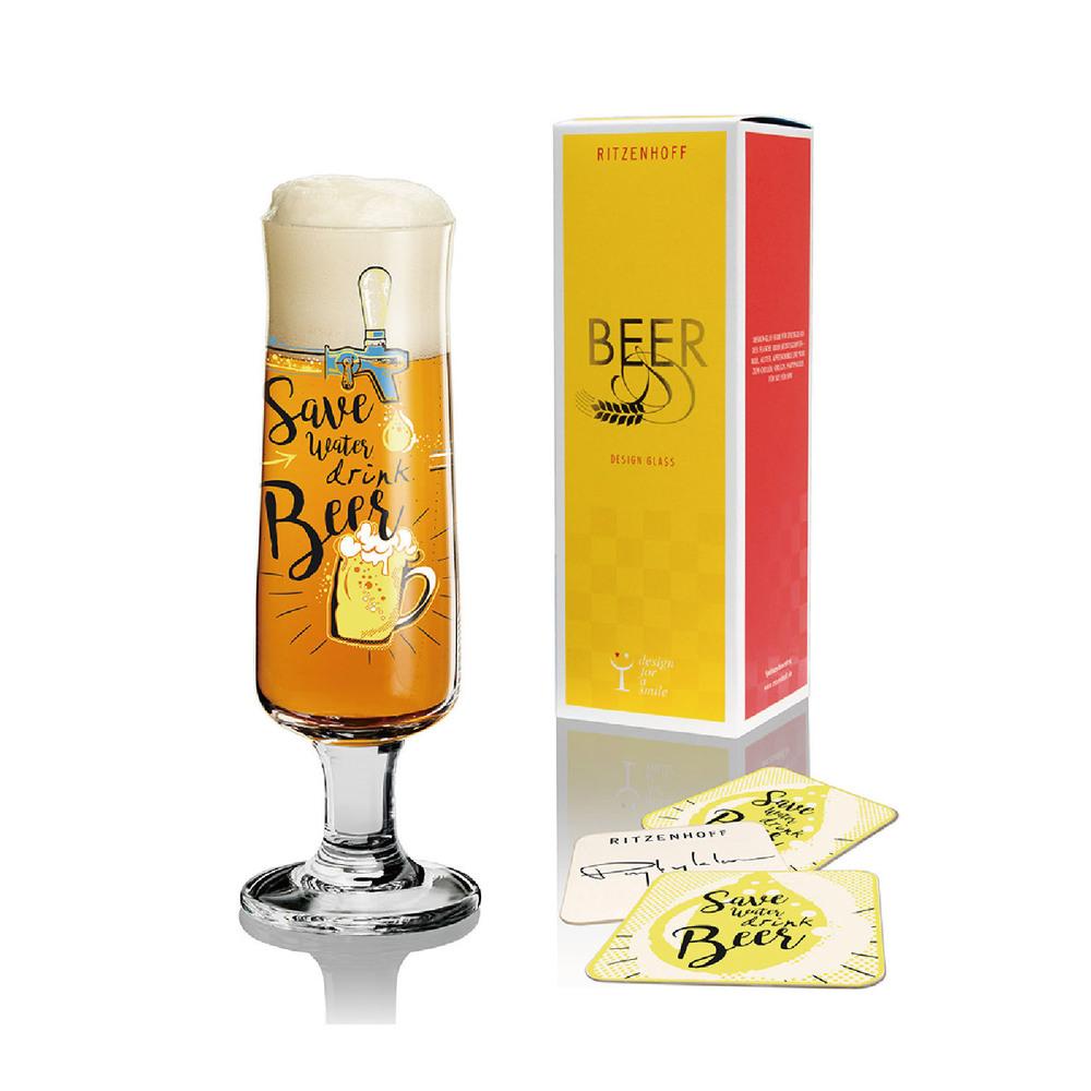 德國 RITZENHOFF|新式啤酒杯/ BEER  多喝酒