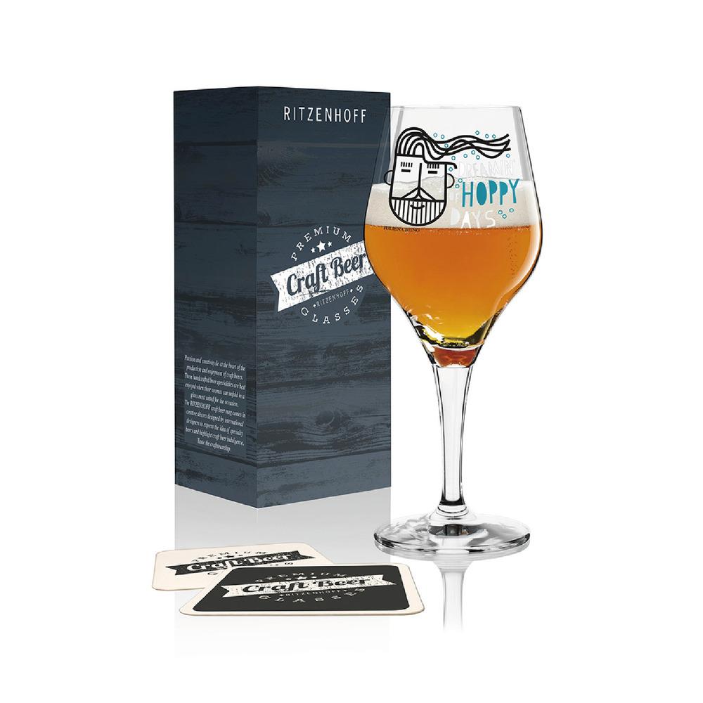 德國 RITZENHOFF 手工精釀啤酒杯 CRAFT BEER 啤酒花型男