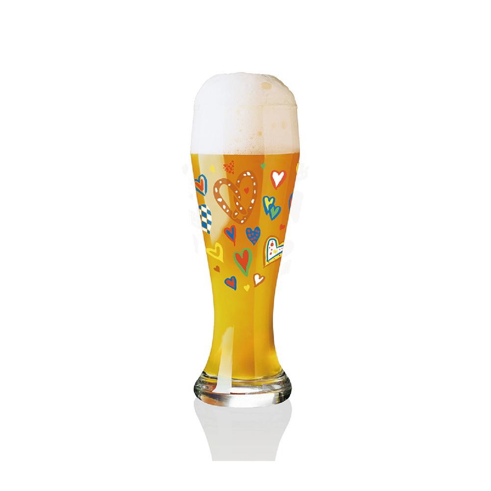 德國 RITZENHOFF|小麥胖胖啤酒杯 / WEIZEN  心花怒放