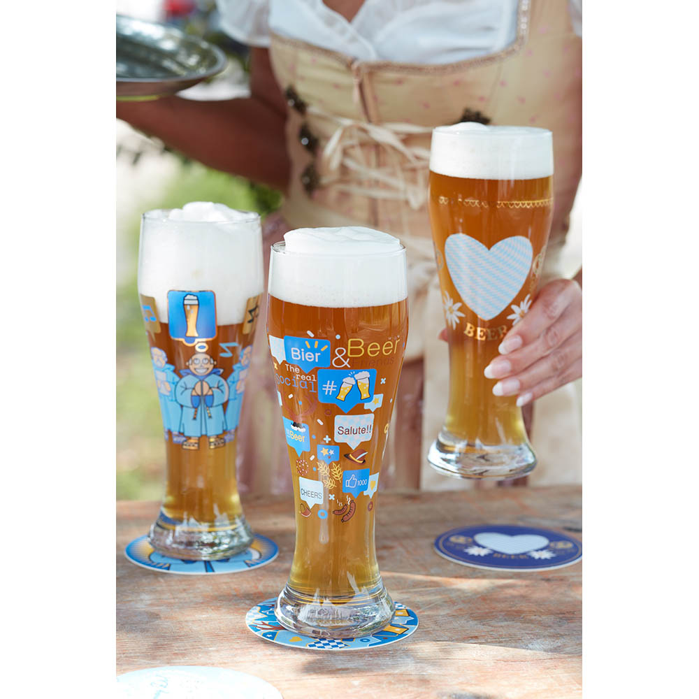 德國 RITZENHOFF 小麥胖胖啤酒杯 / WEIZEN   歡暢無限