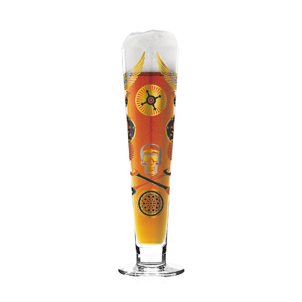 德國 RITZENHOFF 黑標經典啤酒杯 / BLACK LABEL 搖滾夜店