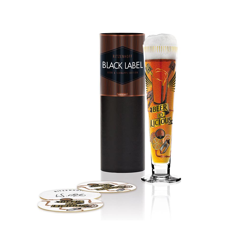 德國 RITZENHOFF 黑標經典啤酒杯 / BLACK LABEL 回味無窮