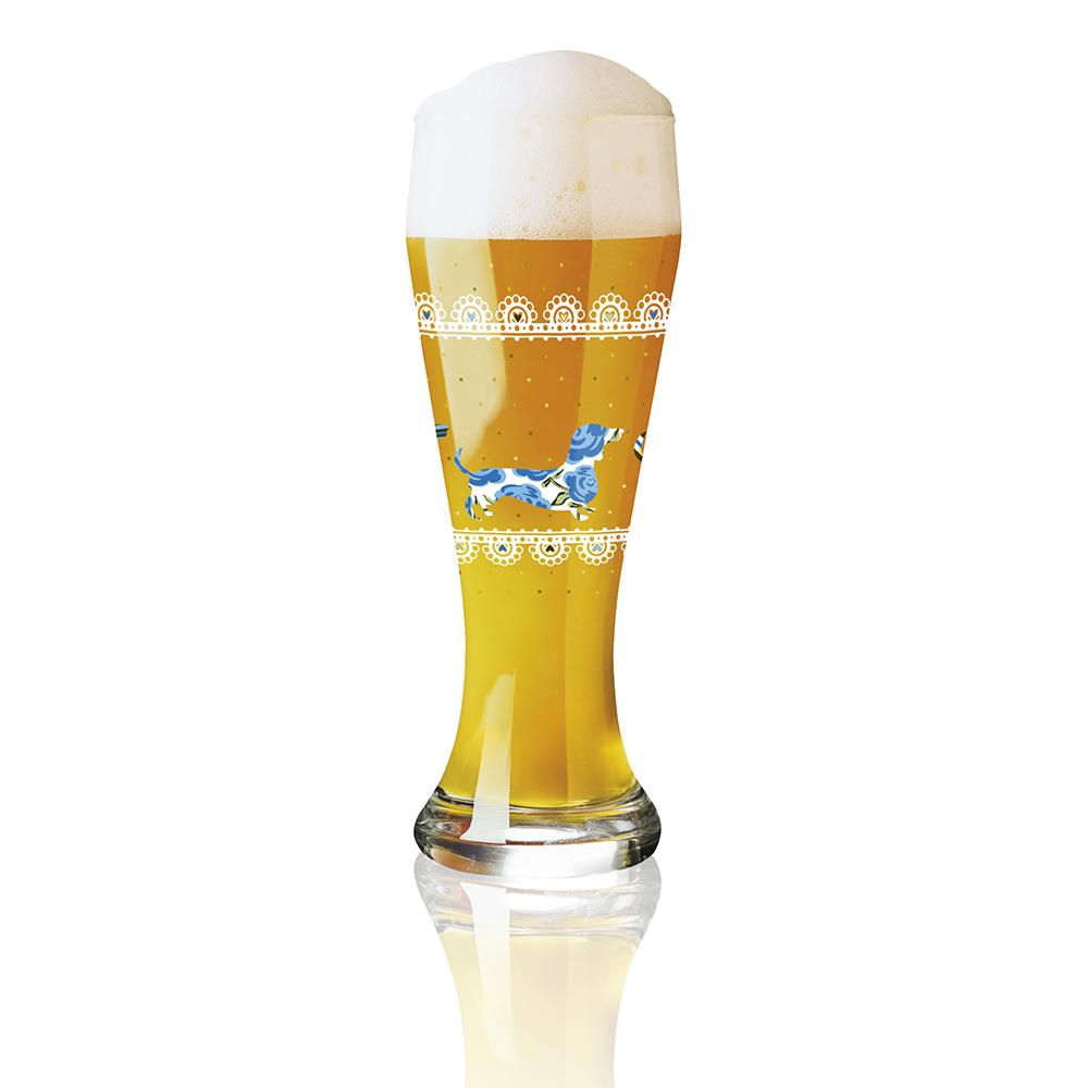 德國 RITZENHOFF|小麥胖胖啤酒杯 / WEIZEN  啤酒臘腸狗