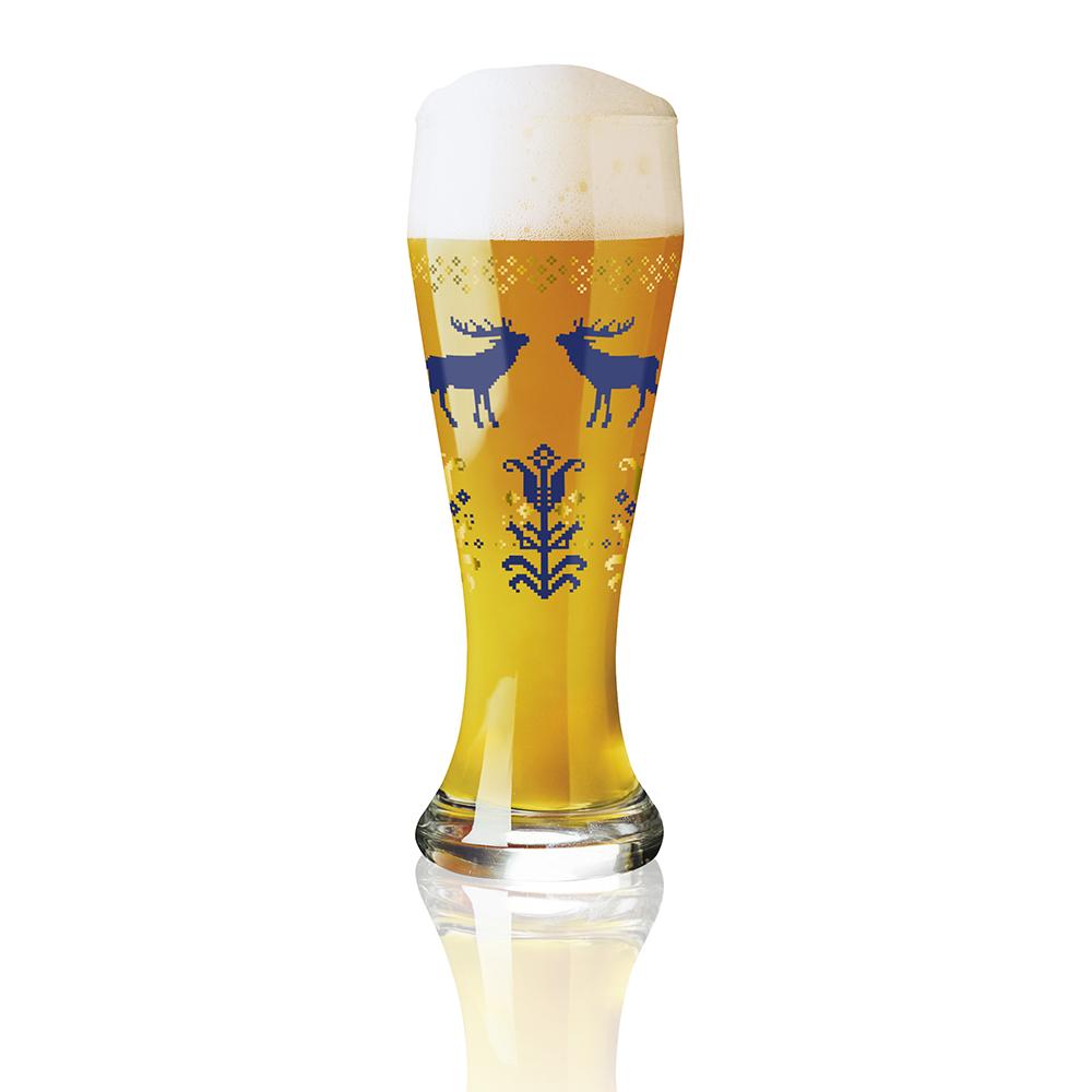 德國 RITZENHOFF|小麥胖胖啤酒杯 / WEIZEN 歡慶麋鹿