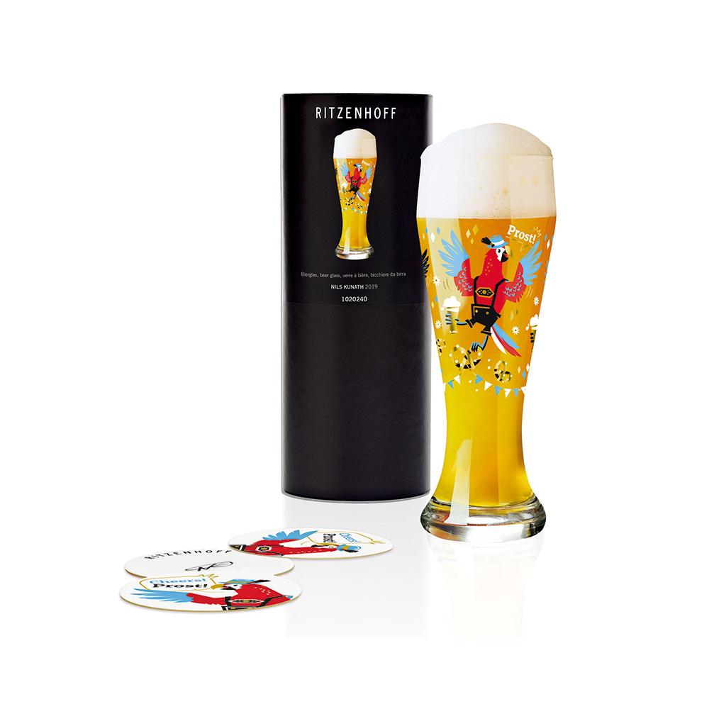 德國 RITZENHOFF|小麥胖胖啤酒杯 / WEIZEN   乾杯鸚鵡