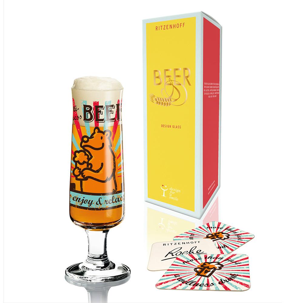 德國 RITZENHOFF|新式啤酒杯/ BEER 熊愛啤酒