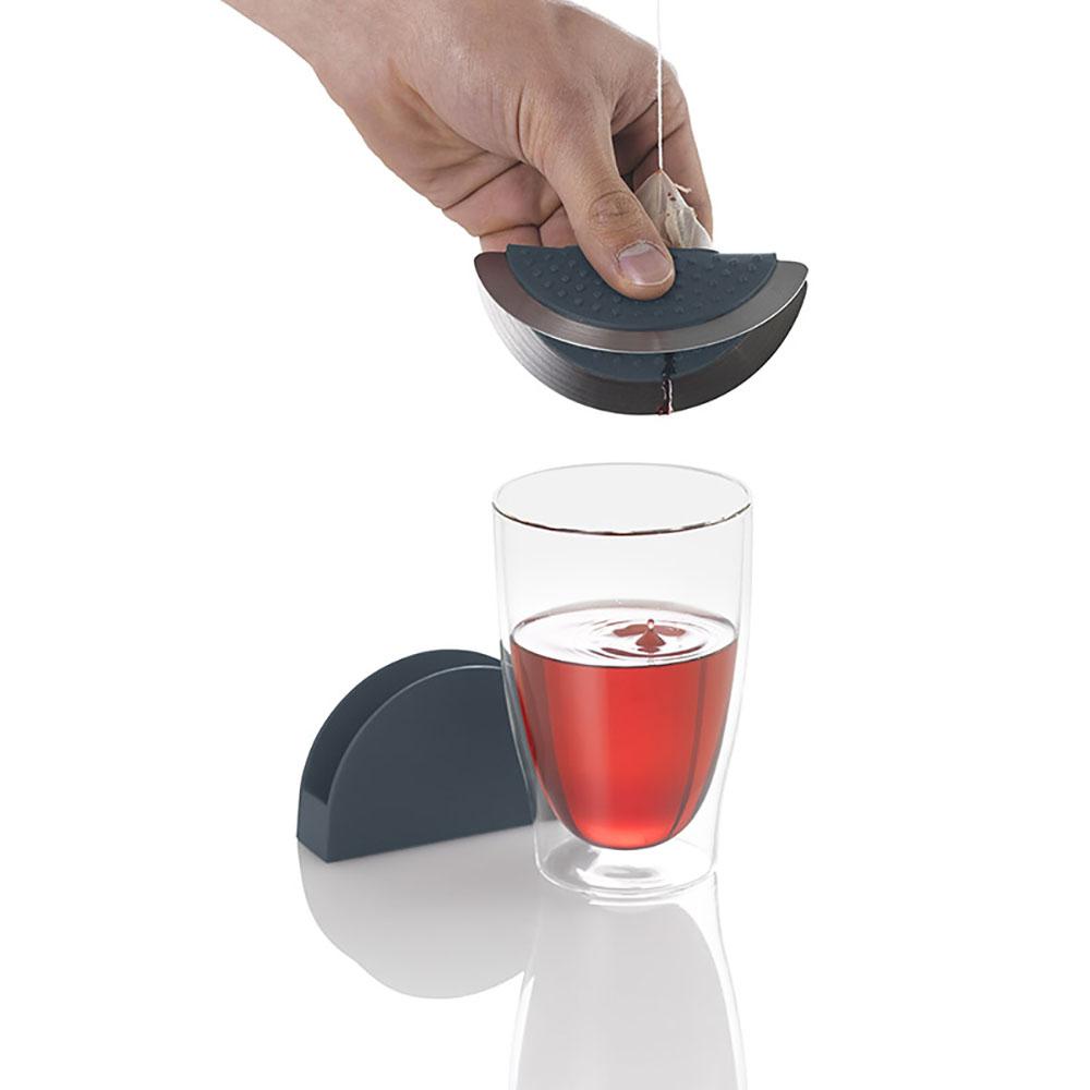 德國 AdHoc|多用途茶包杯蓋組(含座)