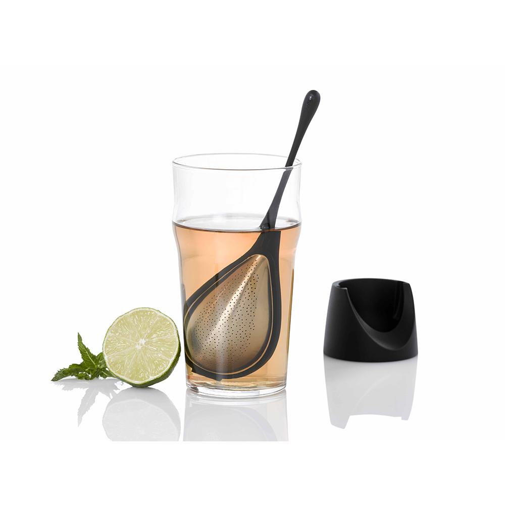 德國 AdHoc|水滴造型濾茶棒(含座)
