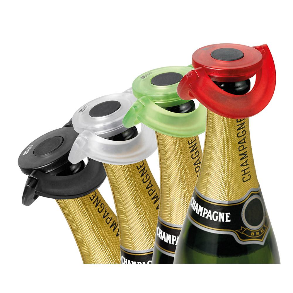 德國 AdHoc|香檳氣泡酒專用瓶塞 / 碳黑