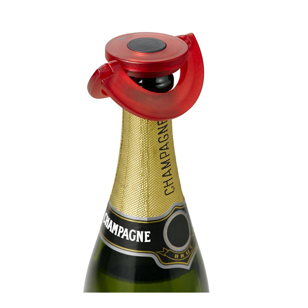 德國 AdHoc|香檳氣泡酒專用瓶塞 / 果凍紅