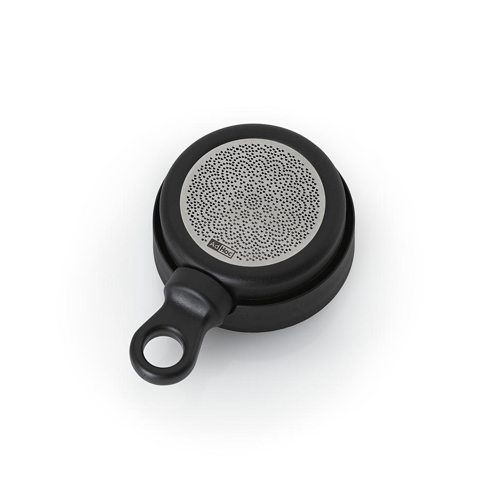 德國 AdHoc 磁吸式濾茶器(含座) / 黯黑色
