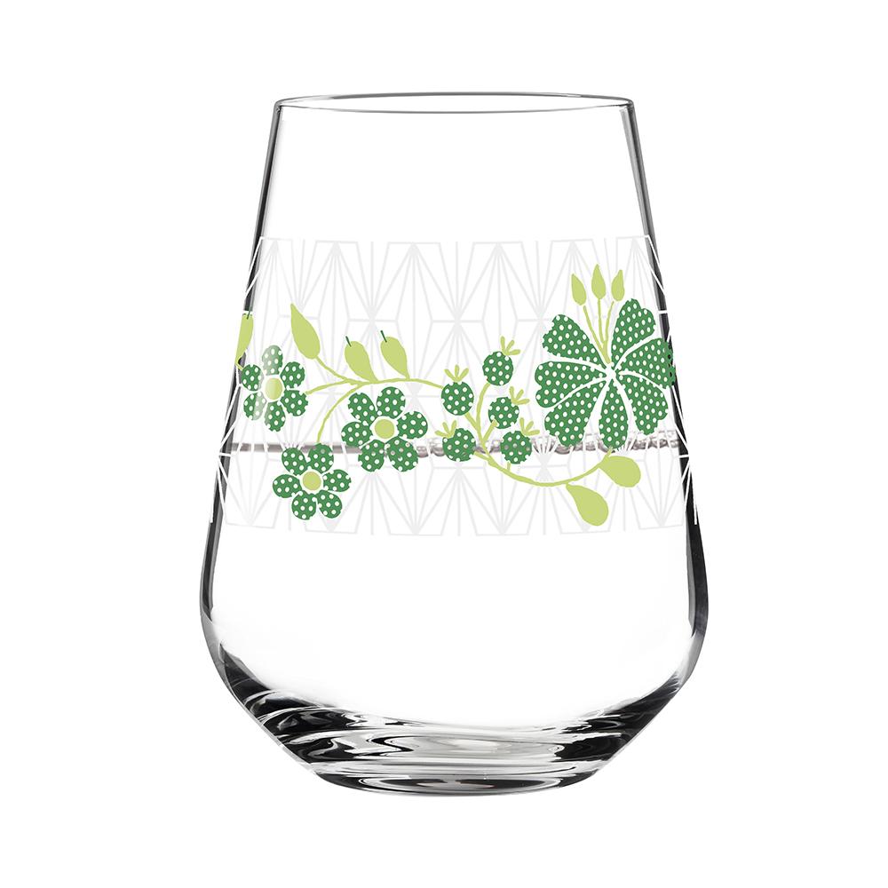 德國 RITZENHOFF|水酒杯 / AQUA E VINO 綠花絢麗