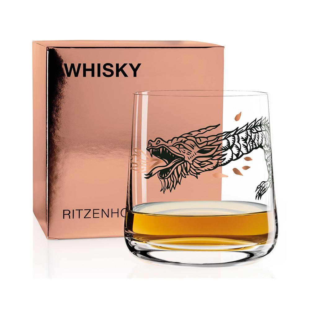 德國 RITZENHOFF|威士忌酒杯 / WHISKY 尼斯湖怪龍