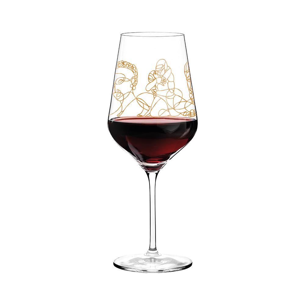 德國 RITZENHOFF 希臘神話紅酒對杯