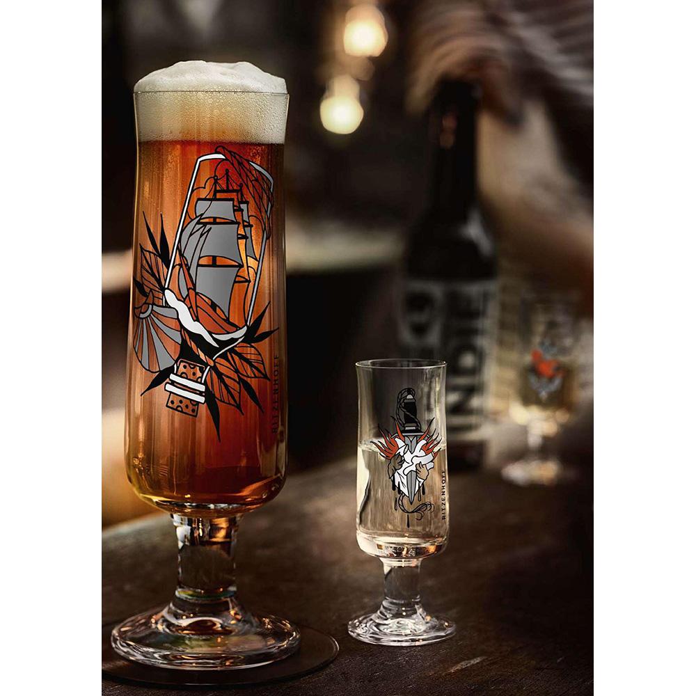 德國 RITZENHOFF|新式啤酒杯 / BEER 瓶中船