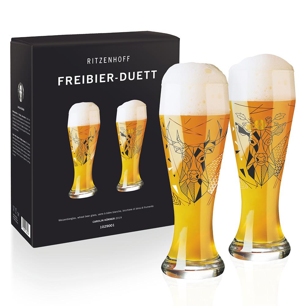 德國 RITZENHOFF|小麥胖啤紀念對杯