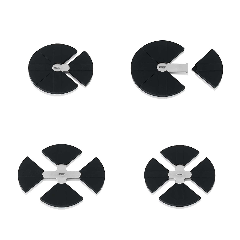 德國 AdHoc|可調式不銹鋼矽膠鍋墊