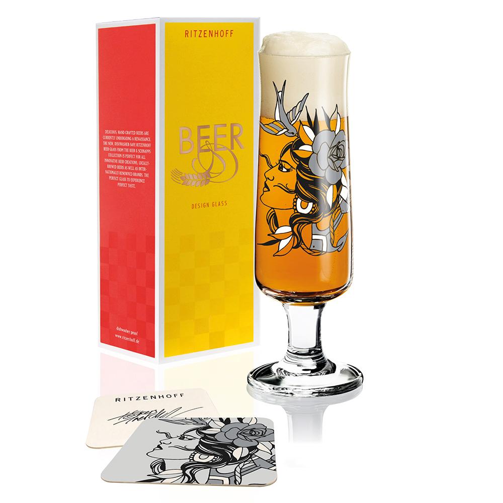 德國 RITZENHOFF|新式啤酒及烈酒杯組–漁夫之妻/穿心劍
