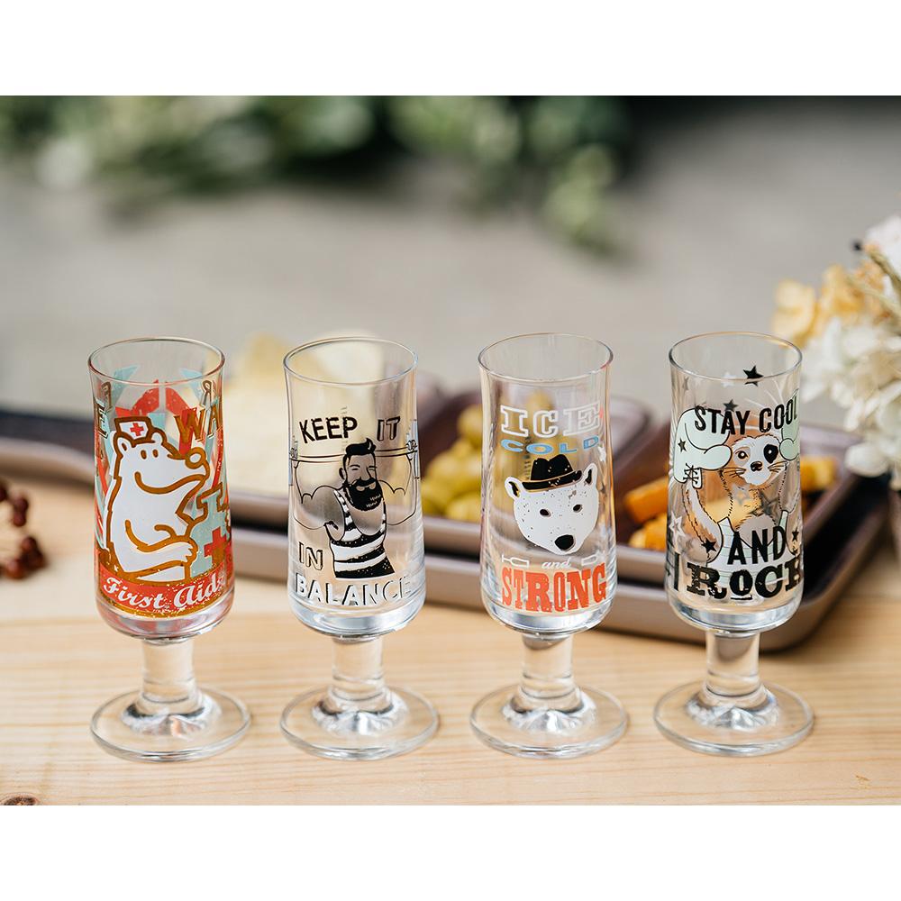 德國 RITZENHOFF|新式啤酒及烈酒杯組–熊愛啤酒/救難熊