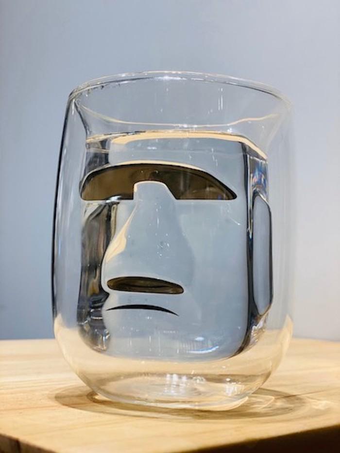 MERCI Design|摩艾立體雙層玻璃杯