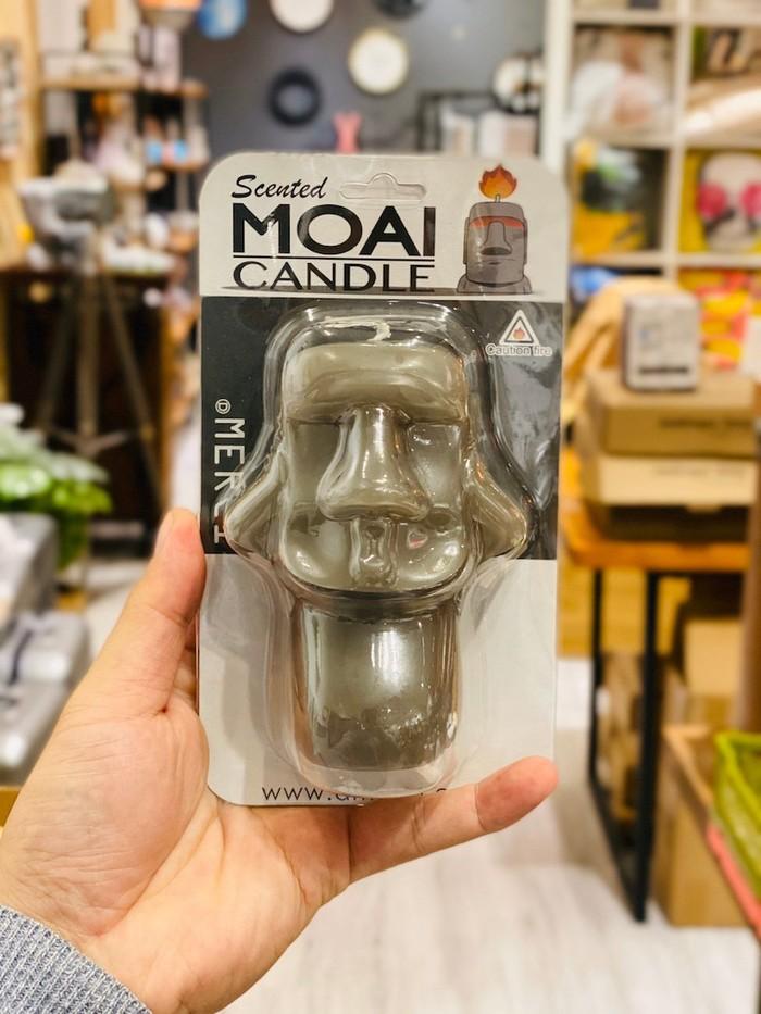 MERCI Design|絕版新品!!摩艾表情香氛蠟燭