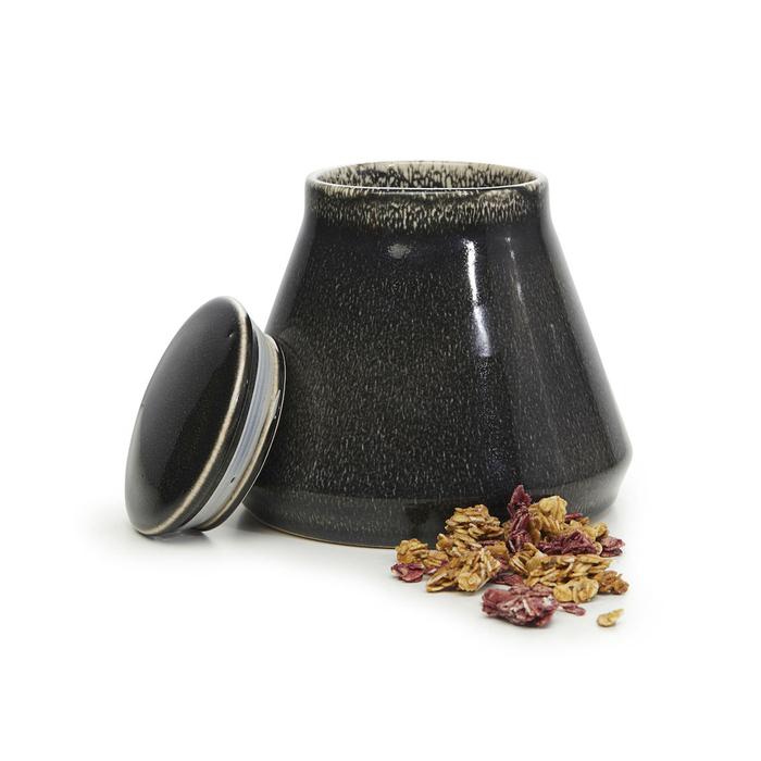 (複製)Sagaform |Nature 復古黑釉彩密封罐550ml