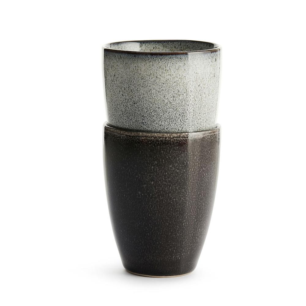Sagaform Nature 瓷釉彩水杯組2入