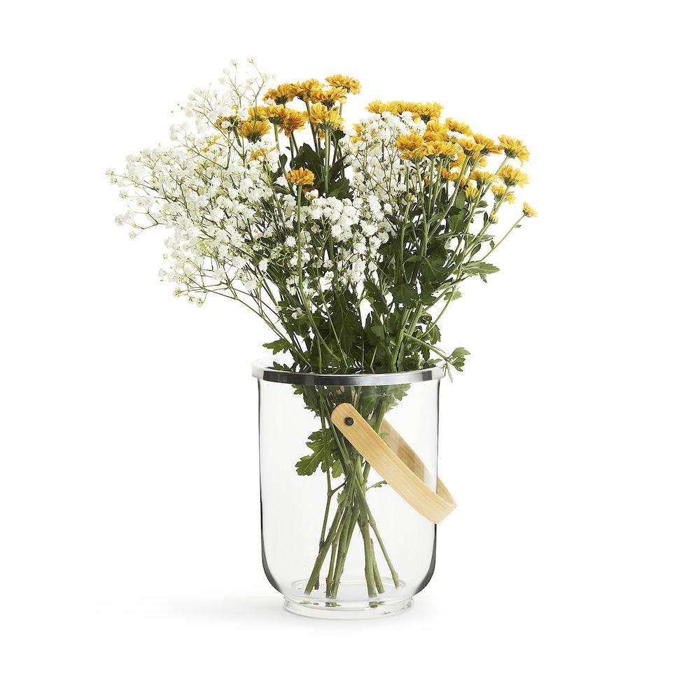 Sagaform|Nature 玻璃燈燭座