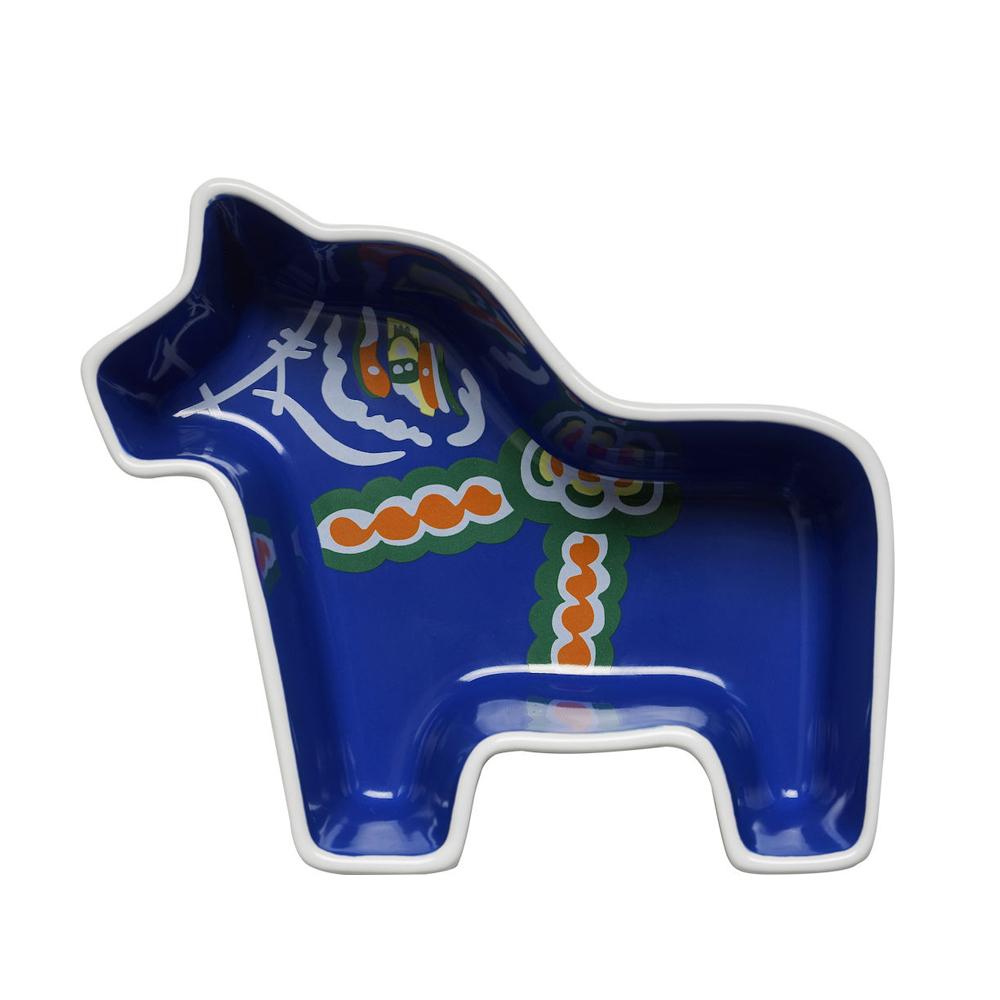Sagaform|達拉木馬造型盤(藍)