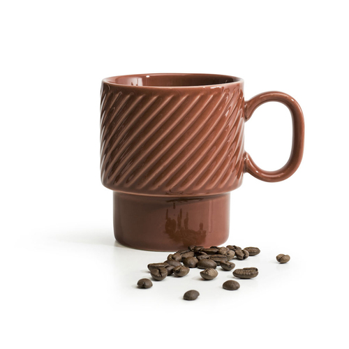 Sagaform|Coffee & More 咖啡杯250ml-陶磚紅