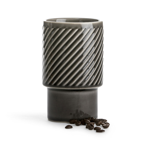 Sagaform|Coffee & More 拿鐵杯400ml-灰