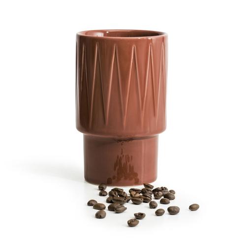Sagaform|Coffee & More 拿鐵杯400ml-陶磚紅