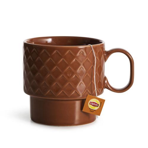 Sagaform|Coffee & More 茶杯400ml-陶磚紅